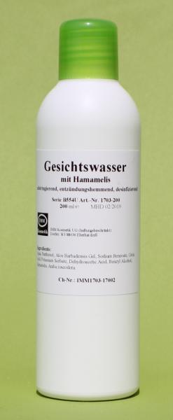 Gesichtswasser mit Hamamelis