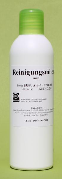 Reinigungsmilch mild