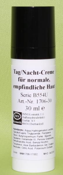Tag/Nacht-Creme für normale, empfindliche Haut